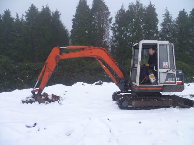 Forklift Training in Winter